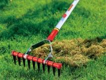 Чистка газона — скарифицирование, аэрация, полив, подметание и пылесос