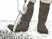 Глубокое рыхление почвы вместо ее перекопки