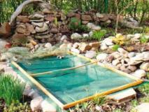 Как пруд в саду сделать безопасным, защита пруда