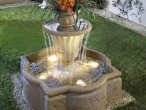 Каким бывает устройство декоративных фонтанов
