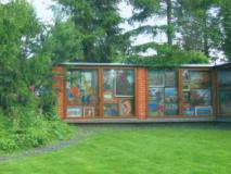 Необычный вариант дизайнерского сада