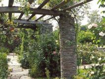 Пергола садовая. Изготовление