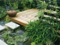 Сделать садовый настил легко