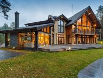 Красивый и надежный финский дом