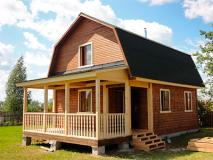 Каркасные дома для проживания круглый год