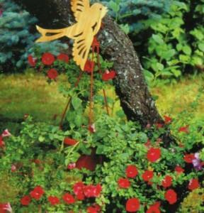Деревянные, вязанные и тканые поделки птиц для сада своими руками