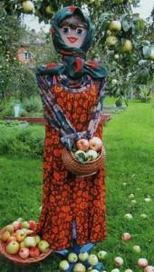 Как сделать летние садовые скульптуры своими руками. Садовница, огородник и огородница