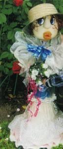 Летние садовые скульптуры своими руками. Белоснежка и Модница