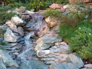 Типы искусственного ручья на участке