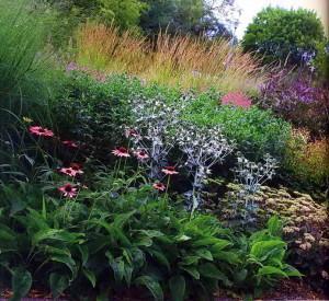 Варианты цветников от Пита Удольфа
