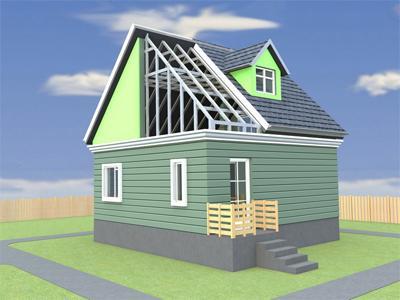 Особенности деревянных домов-бань