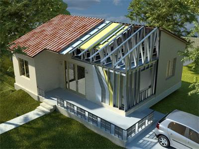 Каркасные дома – доступная роскошь
