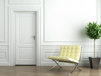 Межкомнатные двери в интерьере дома
