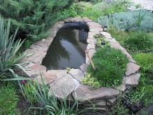 Как зарыть чугунную ванну для создания пруда