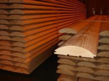 Блок хаус - описание и свойства пиломатериала